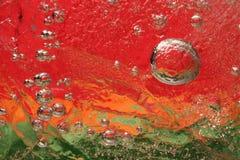 Ice close-up stock photo