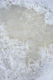 Ice. Close up. Royalty Free Stock Image