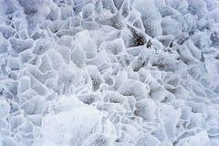 Ice. Close up. Stock Photos