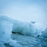 Ice closeup Royalty Free Stock Images