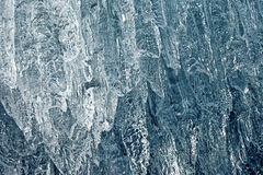 Ice Closeup. Ice Background Texture with Extreme Closeup Royalty Free Stock Image