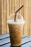 Ice coffe closeup Stock Photo
