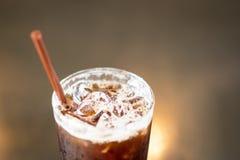 .Ice coffee americano. Ice coffee americano royalty free stock image