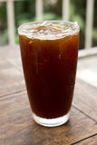 Ice coffee americano Royalty Free Stock Photography