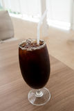 Ice coffee americano Royalty Free Stock Image