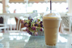 Ice coffee frappe Stock Image