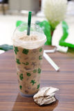 Ice coffee frappe Royalty Free Stock Photos