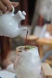 Ice coffee Stock Image