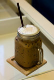 Ice Coffee is ready for serving Royalty Free Stock Photo