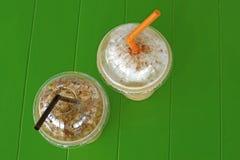 Ice coffee smoothie Stock Image