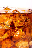 Ice with cola Royalty Free Stock Photography