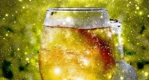 Ice cold cider Stock Photography