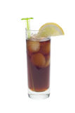 Ice cold cola mix Stock Images