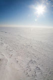 Ice cold desert Stock Photography