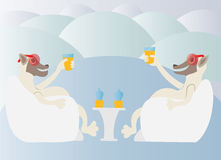 Ice cold drink Royalty Free Stock Photography