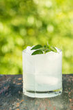 Ice Cold Drink Outdoors Royalty Free Stock Image