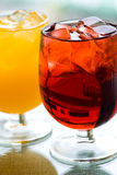 Ice Cold Drinks Royalty Free Stock Photo