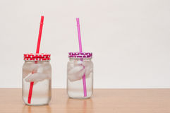 Ice cold drinks Stock Photo