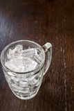 Ice cold in a glass Stock Photo
