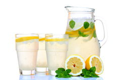 Ice cold lemonade Stock Images