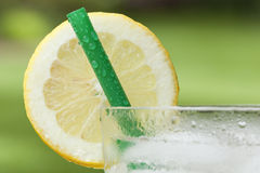 An ice cold lemonade Royalty Free Stock Photo