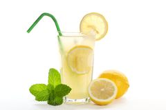 Ice Cold Lemonade Royalty Free Stock Image