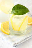 Ice Cold Lemonade Royalty Free Stock Images