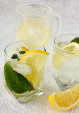 Ice Cold Lemonade Stock Photography