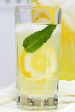 Ice Cold Lemonade With Mint Royalty Free Stock Images