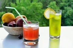 Ice-cold lemonade Royalty Free Stock Photo