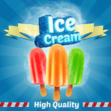 Ice colors Royalty Free Stock Photos