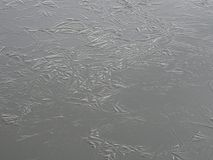 The ice is coming this winter also in Finland stock photo