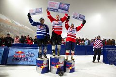 Ice competition royalty free stock photography