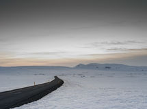 Ice covered mountains in North Western island. Ice covered mountains in north west iceland along route 1 Stock Photos