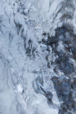 Ice. Covered waterfall Royalty Free Stock Photo