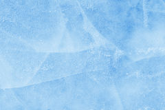 Ice with cracks background texture Stock Images