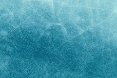 Ice with cracks background texture Royalty Free Stock Photo