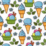 Ice-cream-14 Obrazy Royalty Free