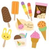 Ice Cream. Vector illustration of ice cream set Royalty Free Stock Image