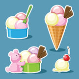 Ice-cream Stock Photo
