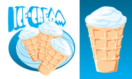 Ice-cream stock illustration