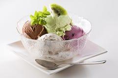Ice cream. Fresh mixed ice cream close up shoot Royalty Free Stock Images