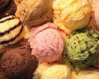Ice - cream Stock Image
