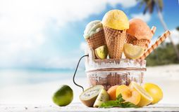 Free Ice Cream Stock Image - 41284611