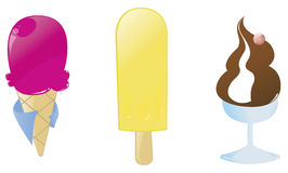 Ice-cream Stock Photos