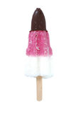 Ice cream. Chocolate and fruit ice cream - clipping path included Royalty Free Stock Photos