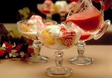 Ice cream with Royalty Free Stock Photos