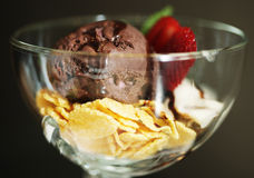 Ice cream assorti Stock Photography