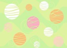 Ice cream background. Abstract vector illustration stock illustration