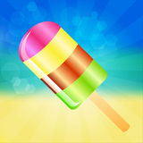 Ice cream background Royalty Free Stock Image